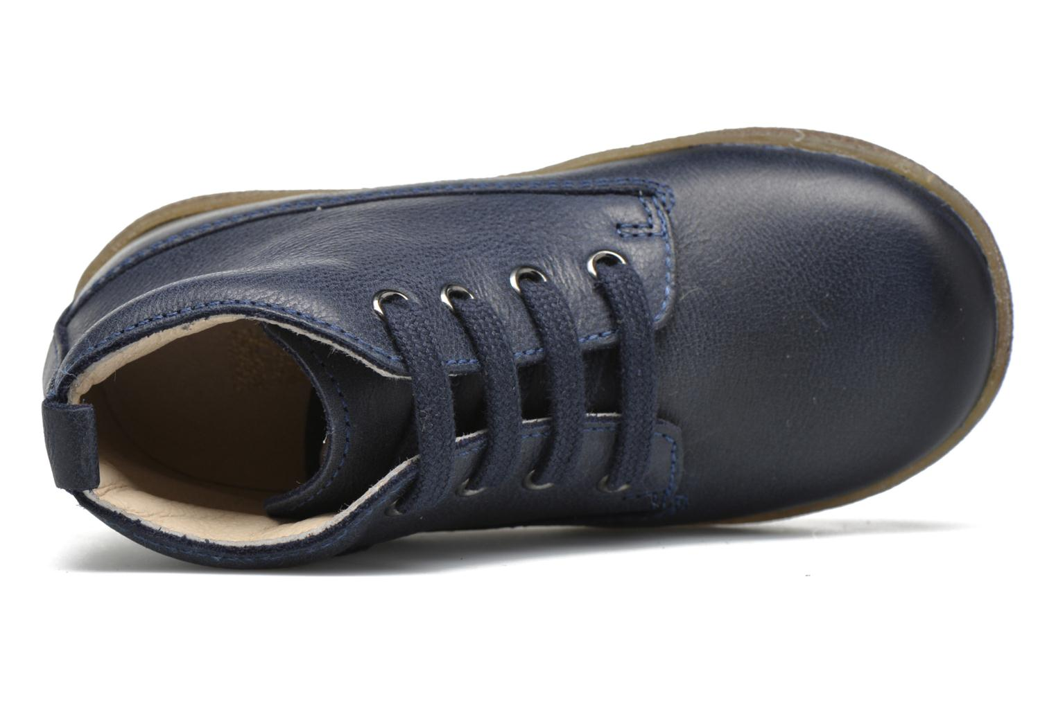 Lace-up shoes Naturino Falcotto 1196 Blue view from the left