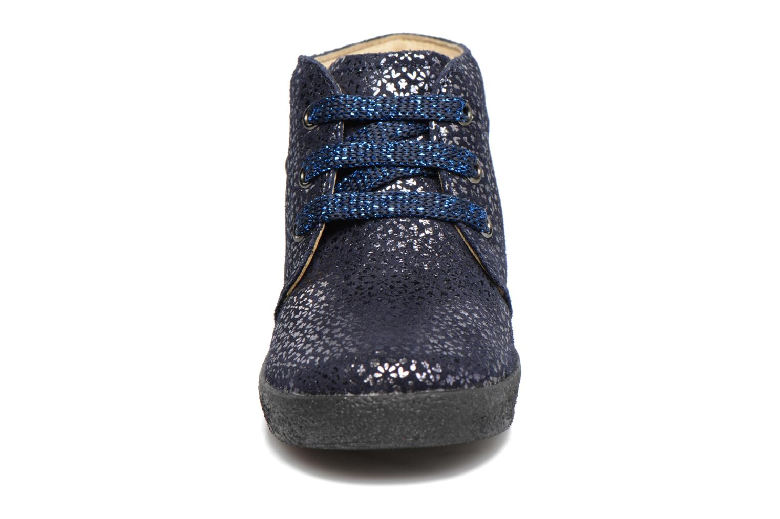 Lace-up shoes Naturino Falcotto 1195 Blue model view