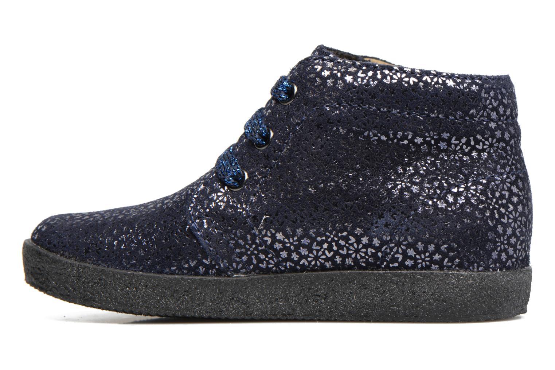 Zapatos con cordones Naturino Falcotto 1195 Azul vista de frente