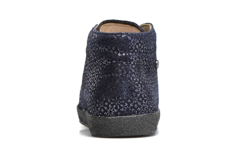 Zapatos con cordones Naturino Falcotto 1195 Azul vista lateral derecha
