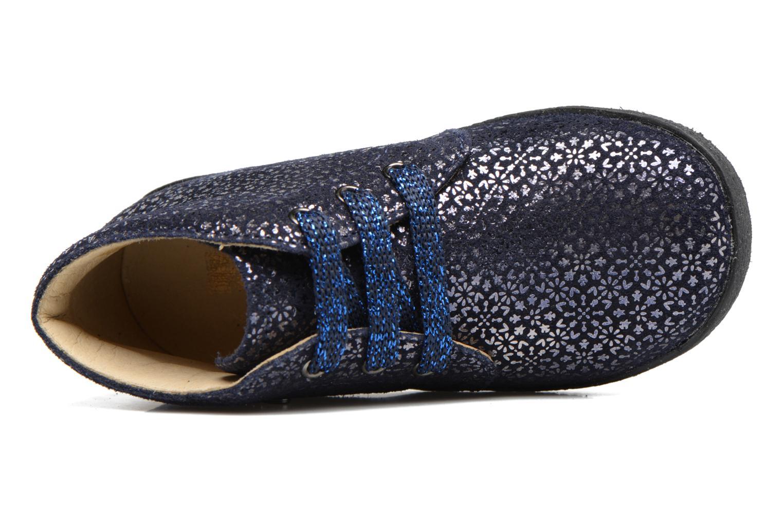 Zapatos con cordones Naturino Falcotto 1195 Azul vista lateral izquierda