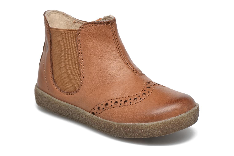 Bottines et boots Naturino Falcotto 4178 Marron vue détail/paire