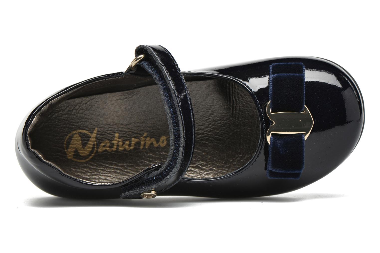 Ballerinas Naturino Naturino 4891 blau ansicht von links
