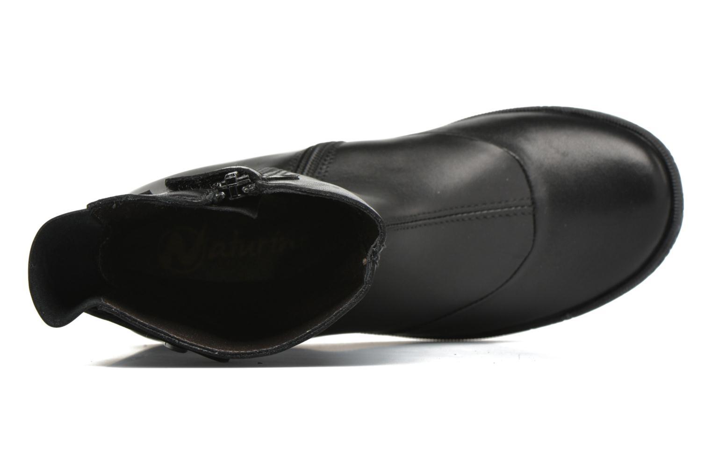 Stiefel Naturino Naturino 4948 schwarz ansicht von links