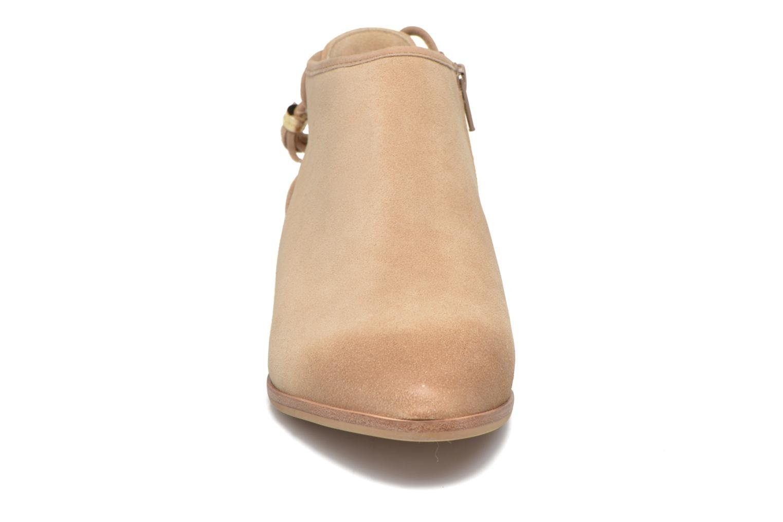 Ankle boots Michael Michael Kors Jennings Flat Bootie Beige model view