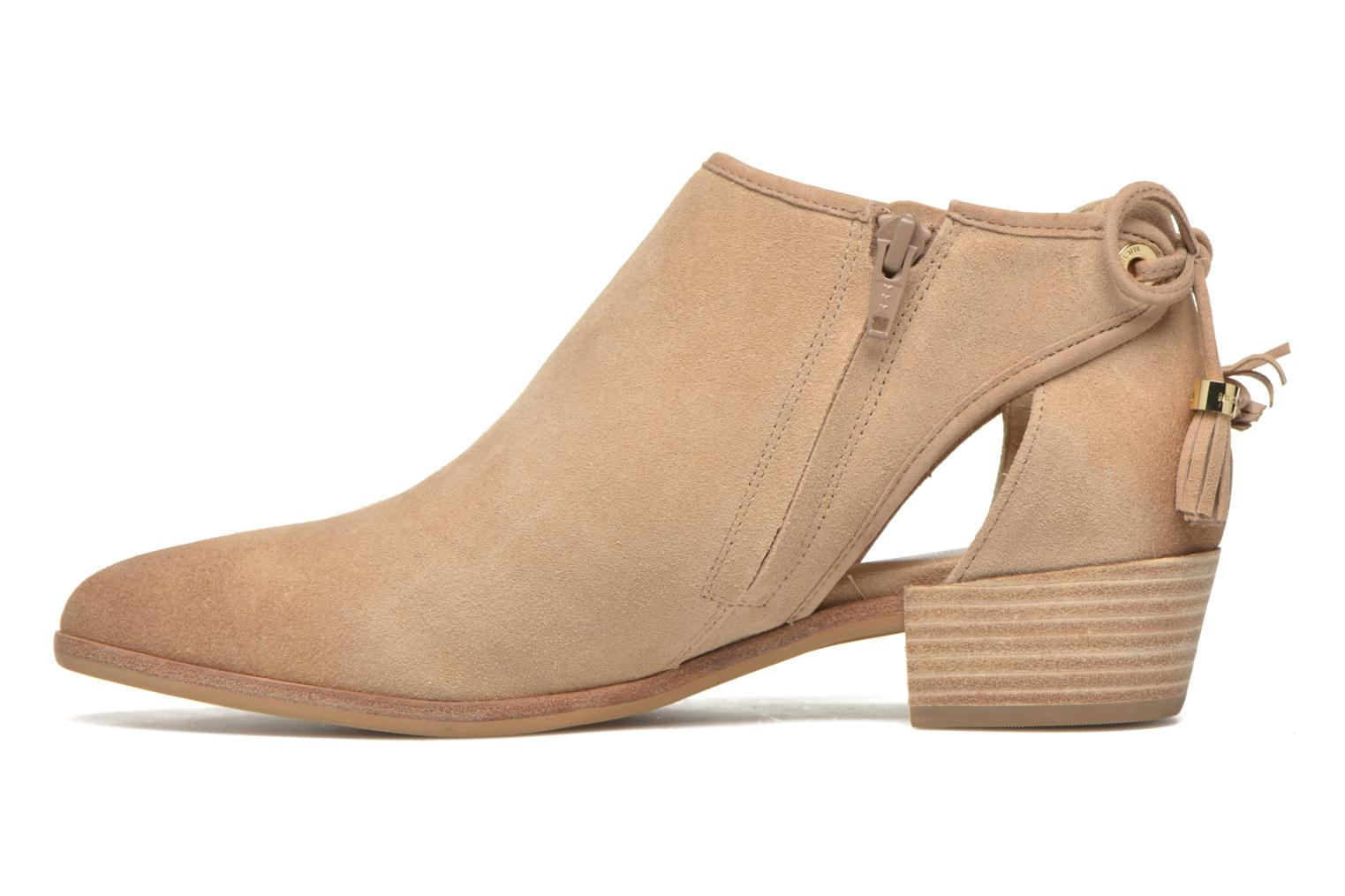 Ankle boots Michael Michael Kors Jennings Flat Bootie Beige front view