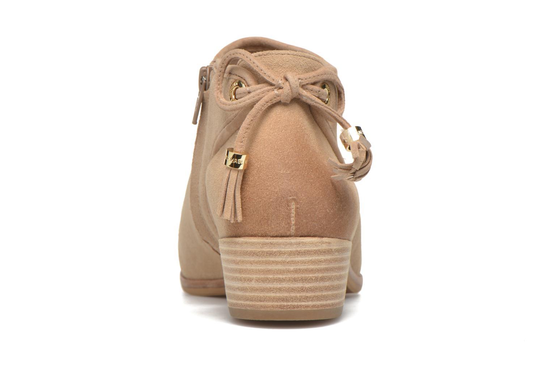 Bottines et boots Michael Michael Kors Jennings Flat Bootie Beige vue droite