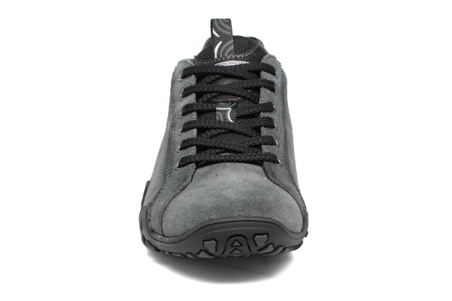 Chaussures de sport Allrounder by Mephisto Funny Gris vue portées chaussures