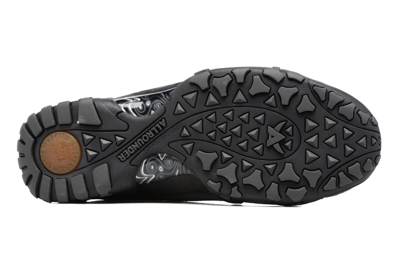 Chaussures de sport Allrounder by Mephisto Funny Gris vue haut