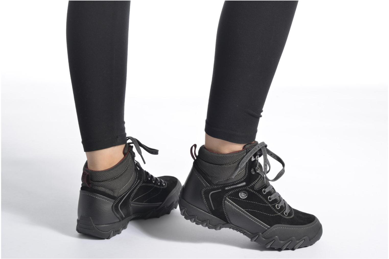 Chaussures de sport Allrounder by Mephisto Nigita Tex Noir vue bas / vue portée sac