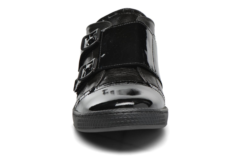 Mocassins Pataugas Jinna/V Noir vue portées chaussures