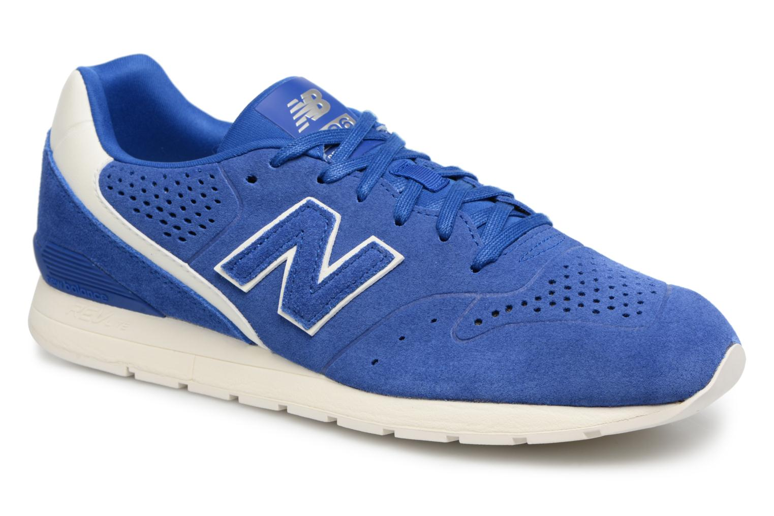 Trainers New Balance MRL996 D Blue detailed view/ Pair view