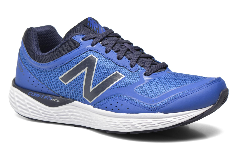 Baskets New Balance M520 D V2 Bleu vue détail/paire