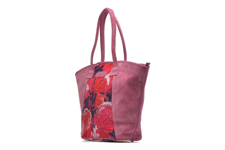 Handtaschen La Fiancée Du Mékong Calista lila schuhe getragen