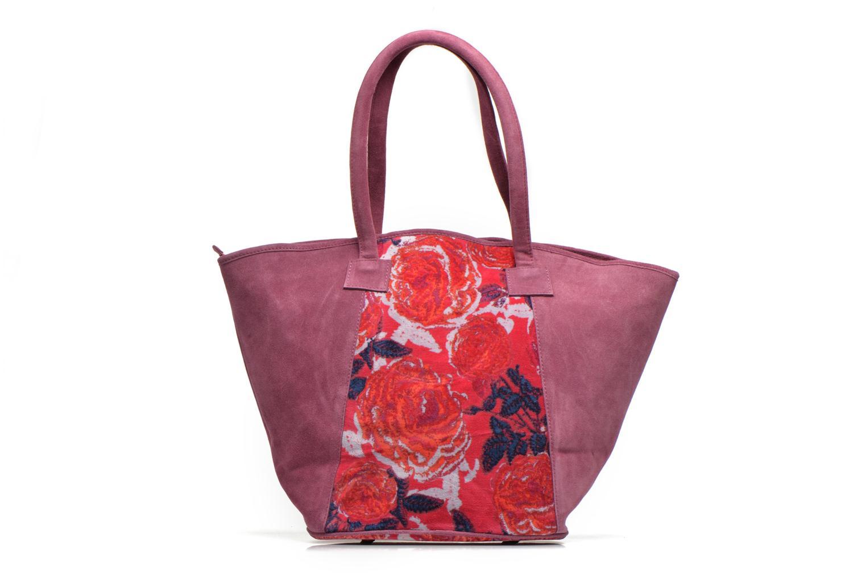 Handtaschen La Fiancée Du Mékong Calista lila ansicht von vorne