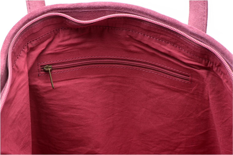 Handtaschen La Fiancée Du Mékong Calista lila ansicht von hinten