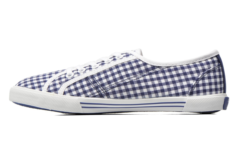 Sneaker Pepe jeans Aberlady capri blau ansicht von vorne