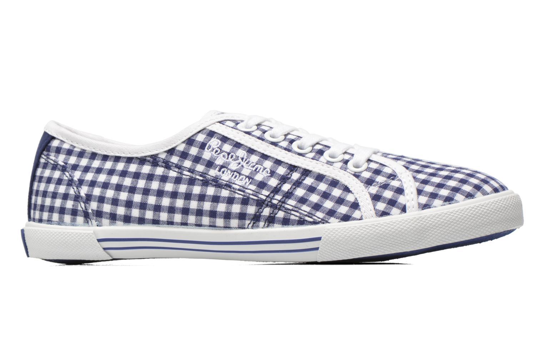 Sneaker Pepe jeans Aberlady capri blau ansicht von hinten