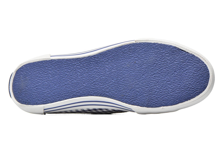 Sneaker Pepe jeans Aberlady capri blau ansicht von oben