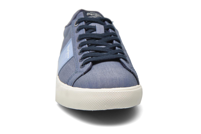 Baskets Pepe jeans Coast basic Bleu vue portées chaussures
