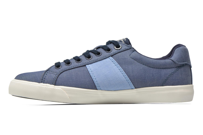 Baskets Pepe jeans Coast basic Bleu vue face