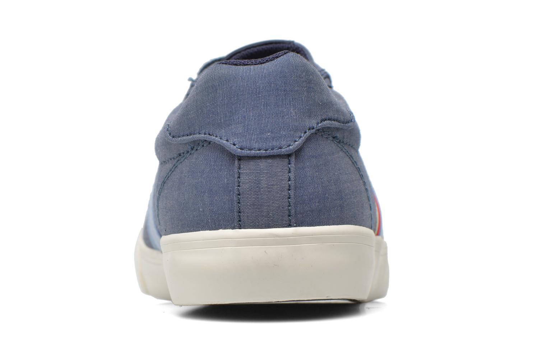 Baskets Pepe jeans Coast basic Bleu vue droite