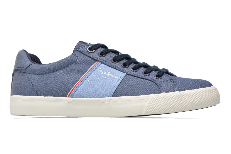 Baskets Pepe jeans Coast basic Bleu vue derrière