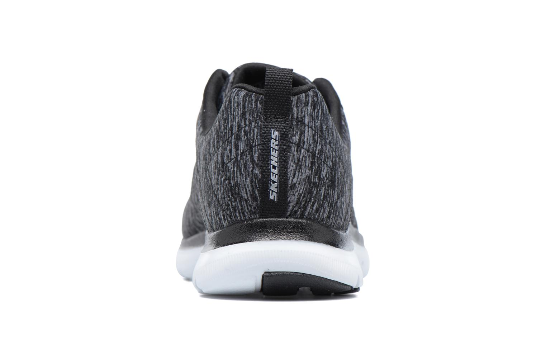 Sneakers Skechers Flex Appeal 2.0 Svart Bild från höger sidan