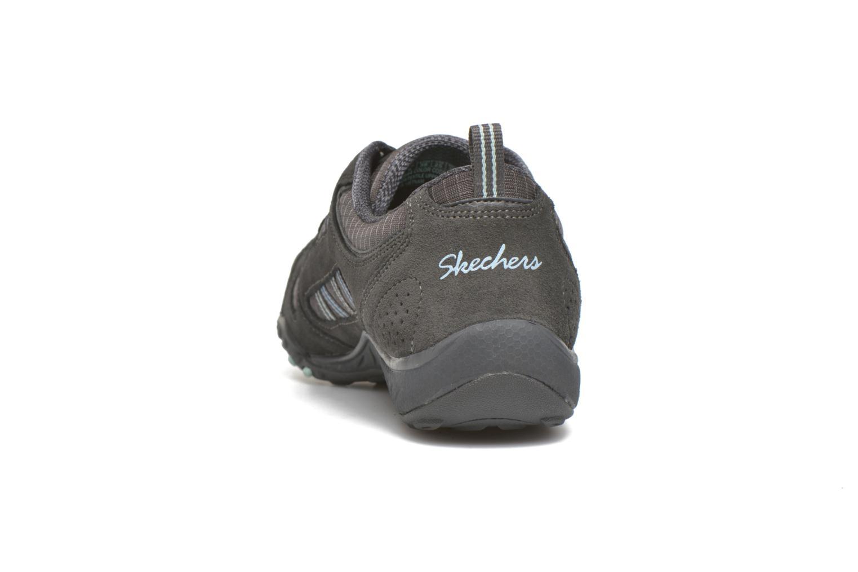 Deportivas Skechers Breathe-Easy - Good Gris vista lateral derecha
