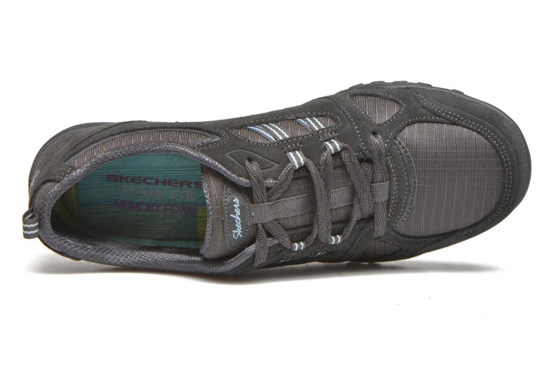 Baskets Skechers Breathe-Easy - Good Gris vue gauche
