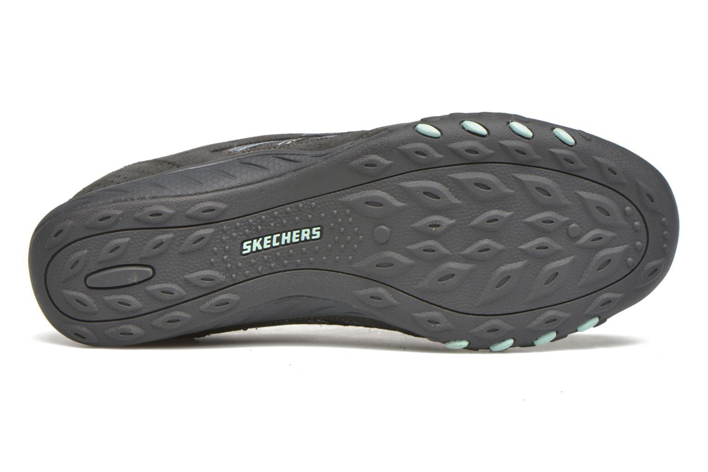 Baskets Skechers Breathe-Easy - Good Gris vue haut