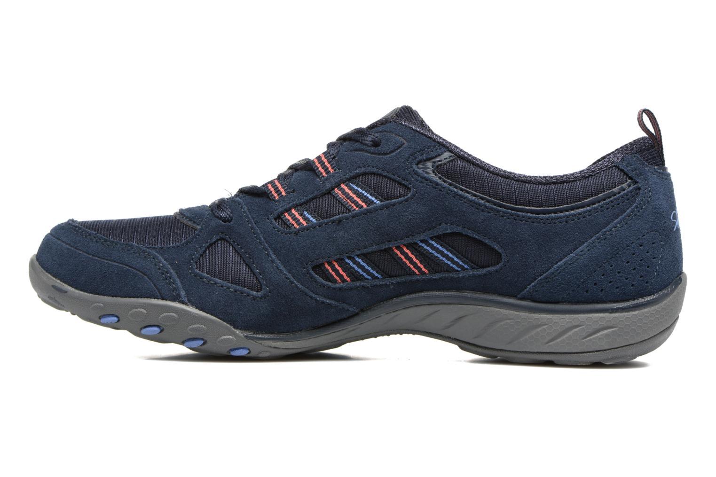 Sneaker Skechers Breathe-Easy - Good blau ansicht von vorne