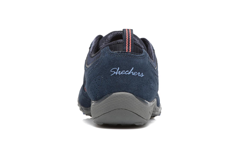 Sneaker Skechers Breathe-Easy - Good blau ansicht von rechts