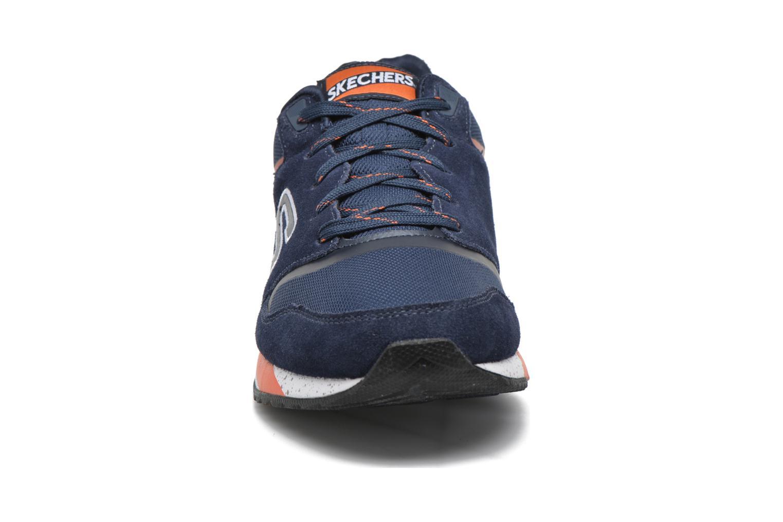 Baskets Skechers OG-90 Bleu vue portées chaussures