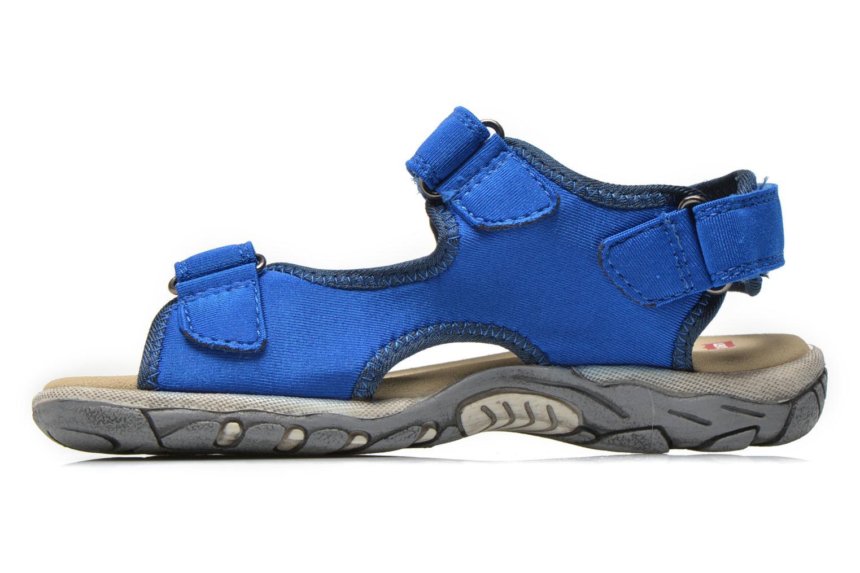 Sandales et nu-pieds Levi's Sandor Bleu vue face