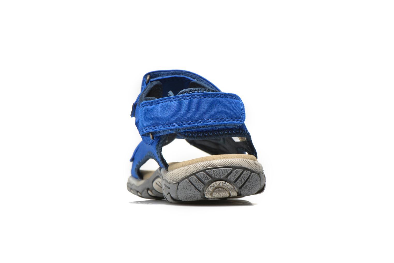 Sandales et nu-pieds Levi's Sandor Bleu vue droite
