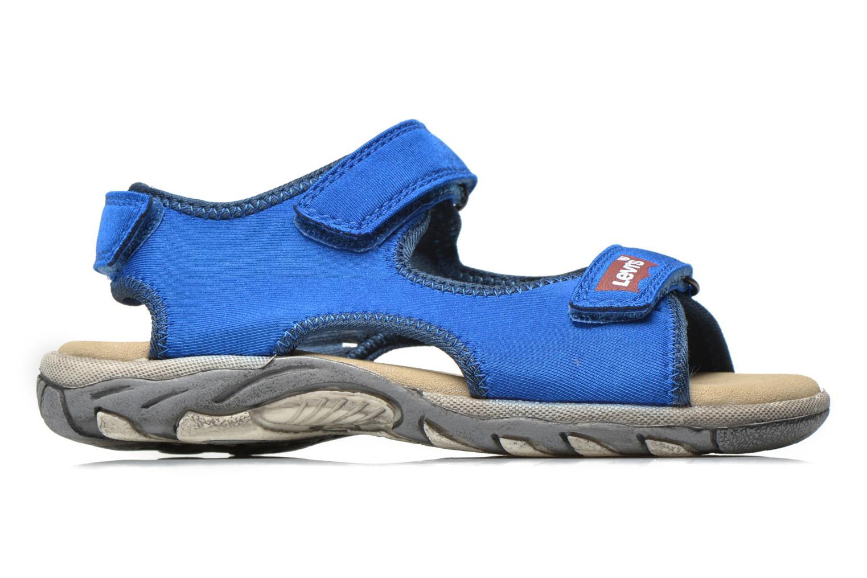 Sandales et nu-pieds Levi's Sandor Bleu vue derrière