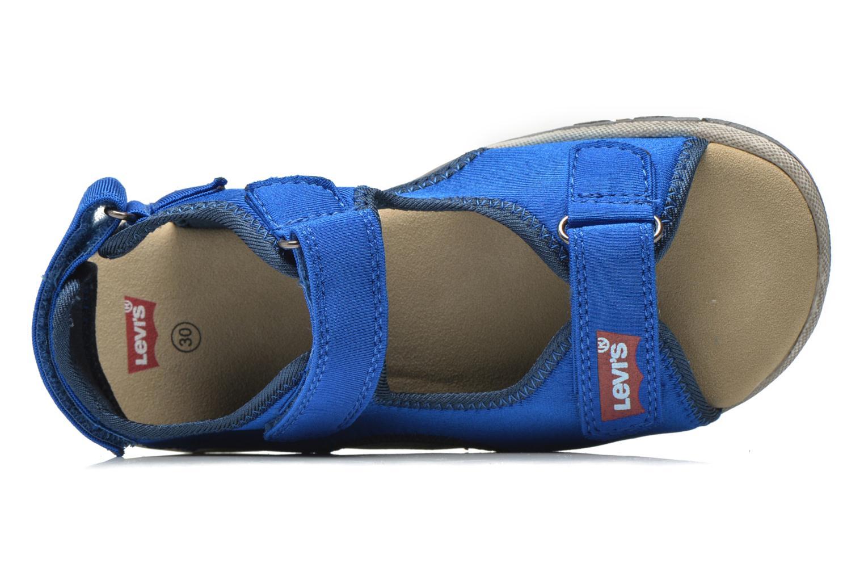Sandales et nu-pieds Levi's Sandor Bleu vue gauche