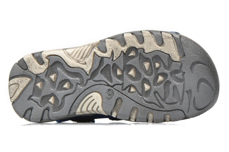 Sandales et nu-pieds Levi's Sandor Bleu vue haut