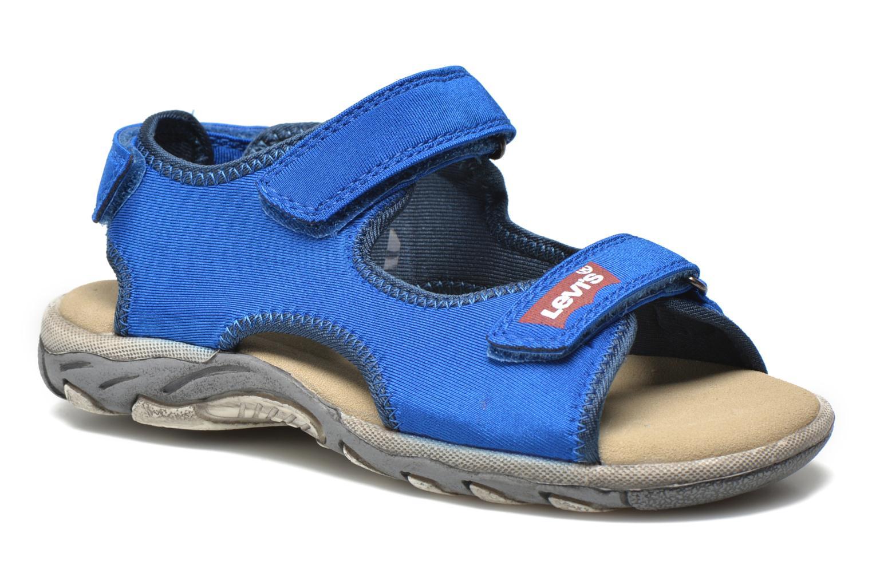 Sandales et nu-pieds Levi's Sandor Bleu vue détail/paire