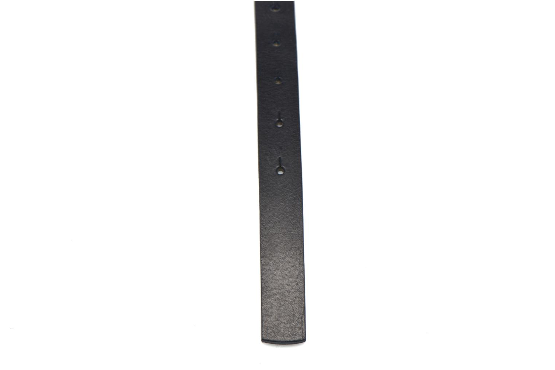Cinturones Bensimon Ceinture perforée cuir 2 Azul vista de frente