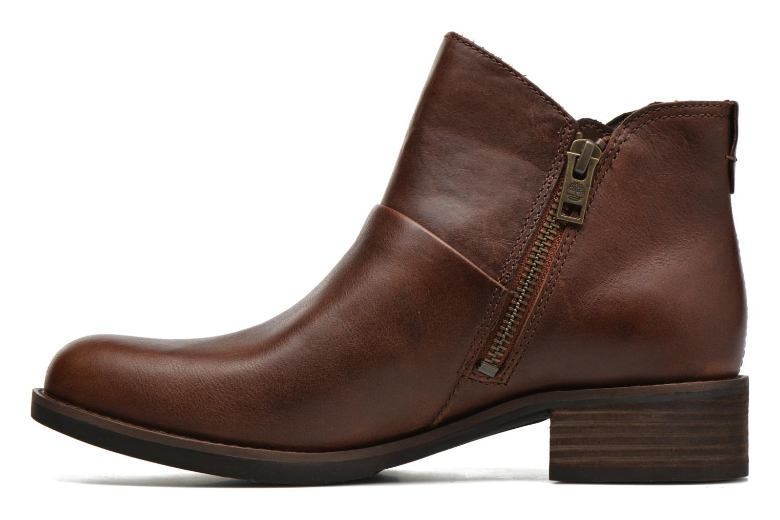 Bottines et boots Timberland Beckwith Side Zip Chelsea Marron vue face
