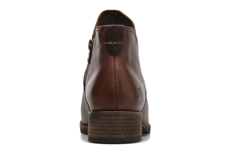 Bottines et boots Timberland Beckwith Side Zip Chelsea Marron vue droite
