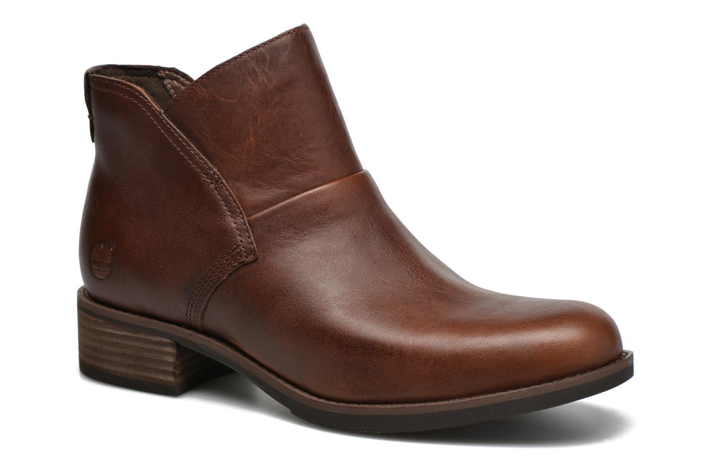 Bottines et boots Timberland Beckwith Side Zip Chelsea Marron vue détail/paire
