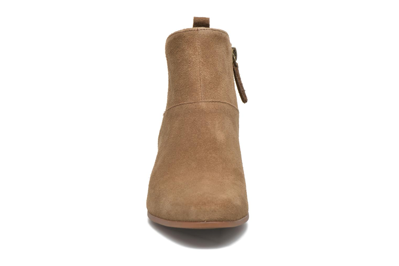 Bottines et boots Timberland Carleton Side Zip Ankle Marron vue portées chaussures
