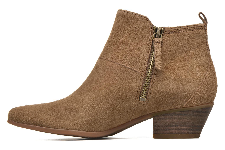 Bottines et boots Timberland Carleton Side Zip Ankle Marron vue face