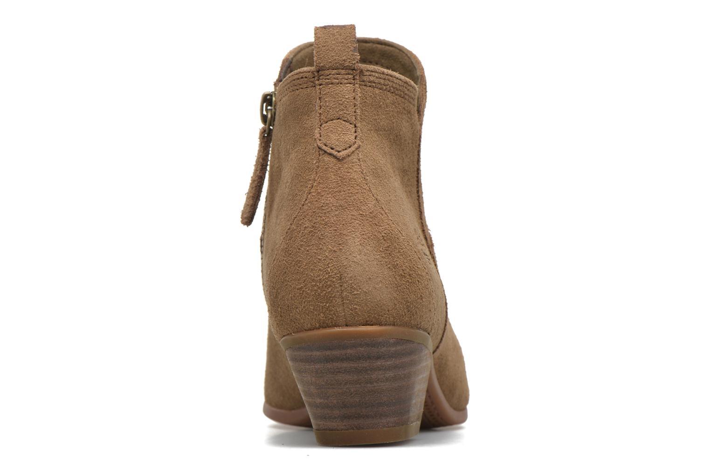 Bottines et boots Timberland Carleton Side Zip Ankle Marron vue droite