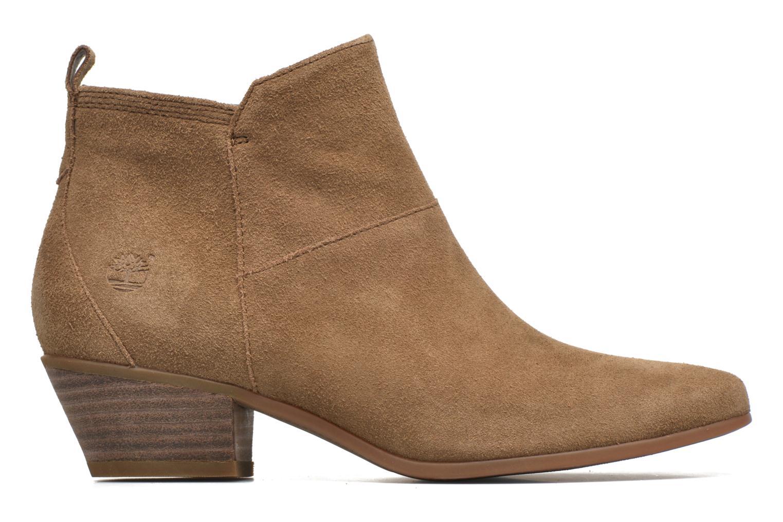 Bottines et boots Timberland Carleton Side Zip Ankle Marron vue derrière
