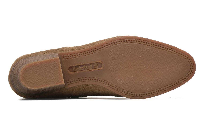 Bottines et boots Timberland Carleton Side Zip Ankle Marron vue haut