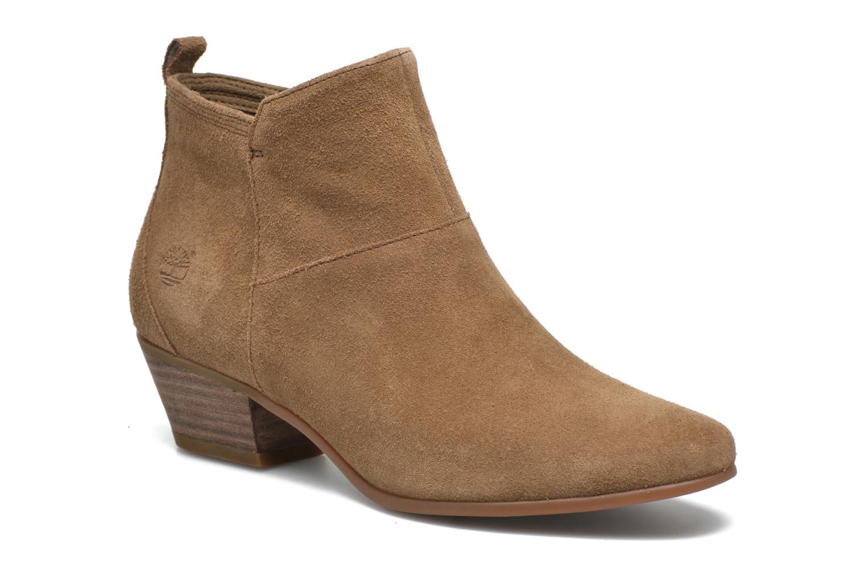 Bottines et boots Timberland Carleton Side Zip Ankle Marron vue détail/paire